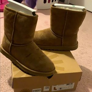 Big kid chest ugg boot